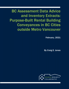 BC Assessment Data Advice and Inventory Extracts